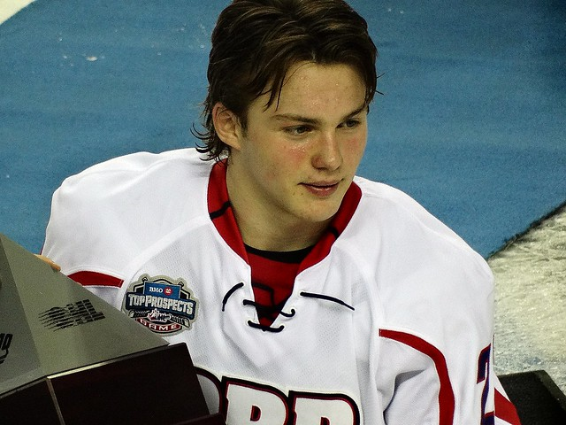 Brendan Lemieux - Top Prospects Game from Flickr via Wylio