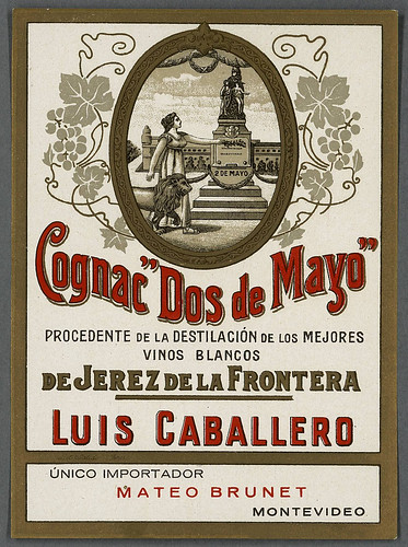 010-Etiquetas de bebidas. Figuras y retratos de mujeres-1890-1920- Biblioteca Digital Hispánica