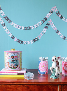 Butterfly Garland for Unelmien Talo&Koti Magazine