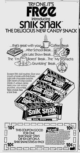 Snik Snak Ad - 1973