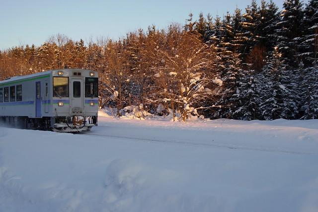 夕照列車1