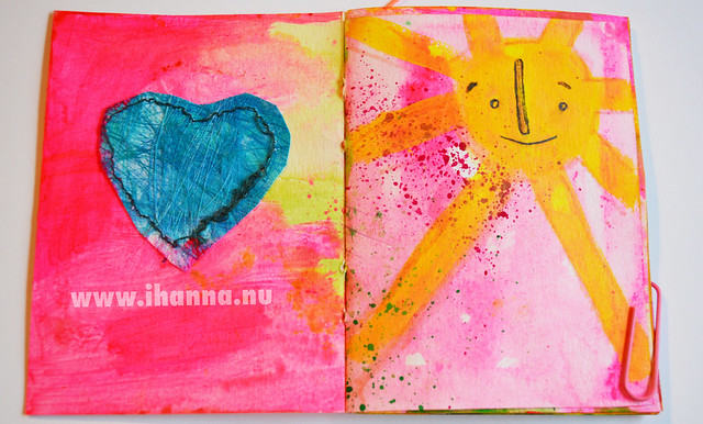 January Mini Book: Heart and Sun