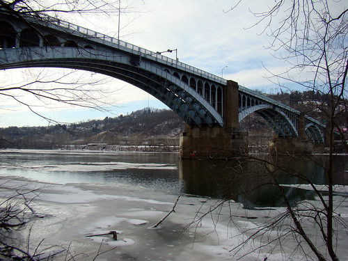 Washington Crossing Bridge, Feb 3rd 2014