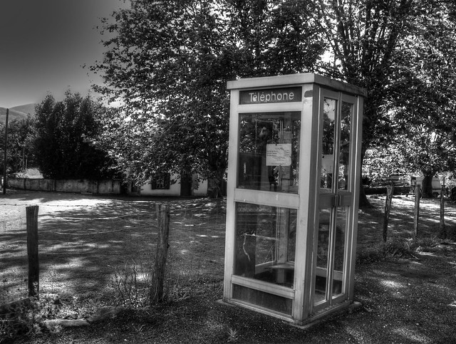Country Phone Phone Booth, somewhere in the south of France