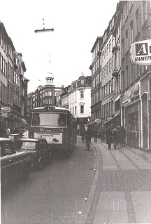 Købmagergade looking north by Kronprinsensgade 1973