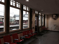 Waiting room of Keighley station