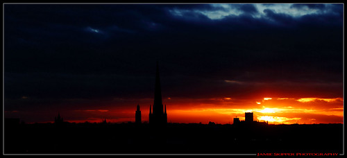 sunset silhouette skyline cathedral norwich norwichcity canonef24105mmf4lusm norwichskyline canoneos6d