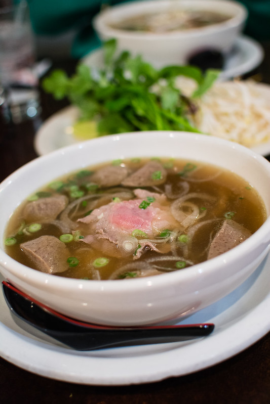 Beef Pho Bowl at Pho Long