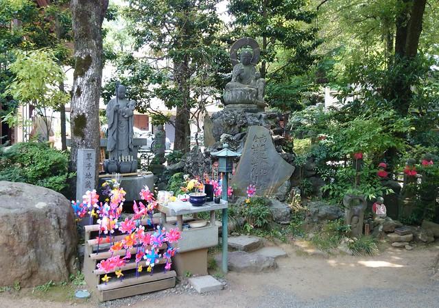 Lost Children Area at Jindaiiji Temple