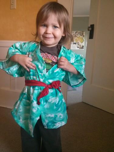 Davis' kimono