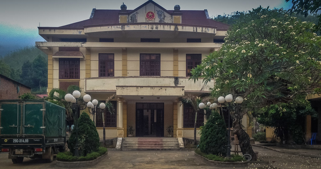 Creepy old Vietnamese Hotel