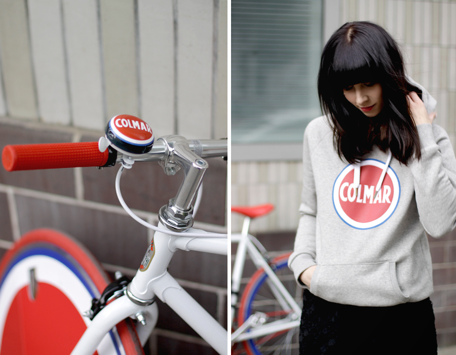 Colmar Originals Store Opening in Berlin Mitte 14.05.14 blogger Ricarda Schernus bike bicycle 7