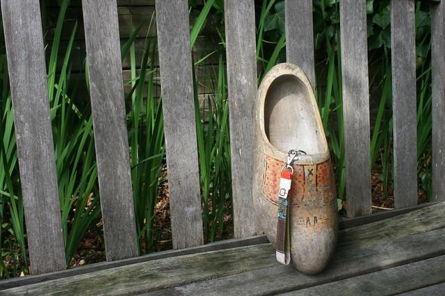 Key chain and shoe