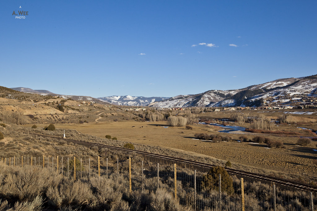 Eagle county view at Gypsum