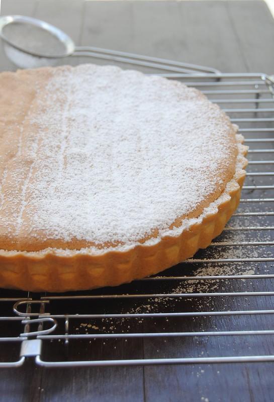 Lemon Pastry Cream Tart