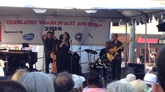 Kim Nalley sings soulful swing music to close out the #SF Fillmore #JazzFestival!
