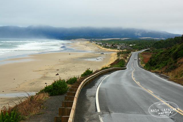 Towards Cape Kiwanda