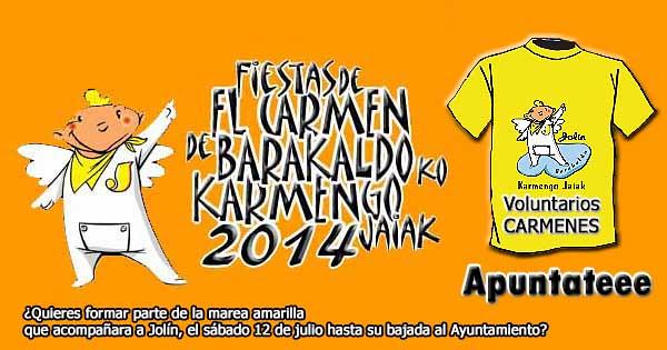 Carmenes de Barakaldo 2014 Voluntarios