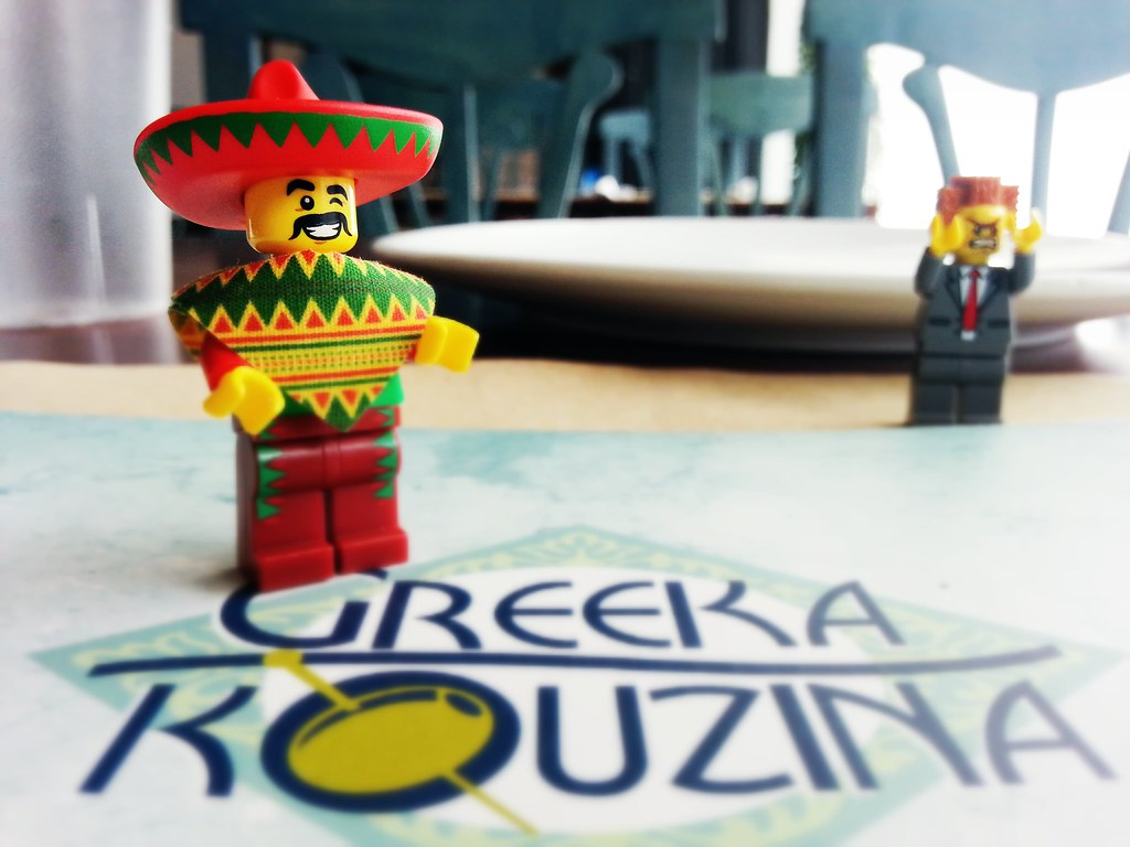 greeka kouzina #manila #food #lego