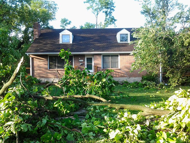 Storm damage and aftermath