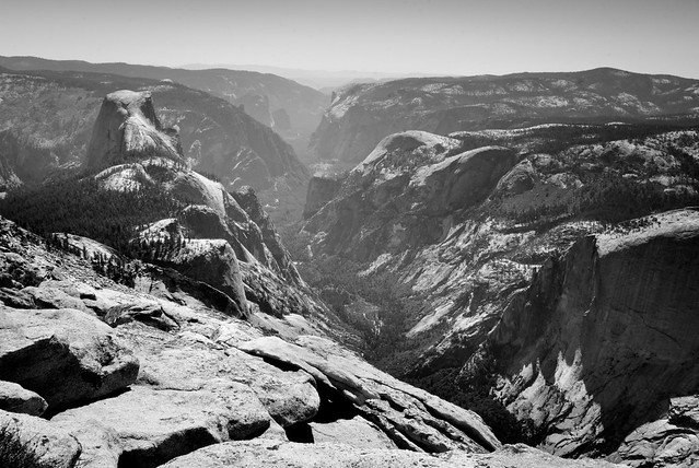 Yosemite Valley from Clouds Rest