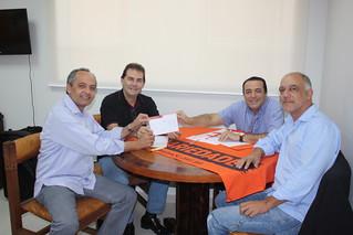 Professor Enoque, Paulinho da Força, Gilberto Costa e Marquinhos debatem Eleições 2014 na sede estadual do Solidariedade-SP