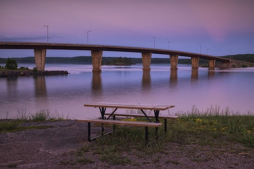 park longexposure bridge ontario water architecture night rural evening twilight support reststop span lakehuron northernontario northchannel jackpine reinforcedconcrete 4seconds neutraldensityfilter graduatedneutraldensityfilter stjosephisland nikcolorefex boxgirder glamourglow dfine2 hoyandx8 06ndsoftgrad highway548 detailextractor gnd2s tarbutttownship stjosephchannel bamfortisland fujixe1 xf1855mm leeseven5 brentgilbertsonbridge