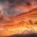 Dramatic sunrise over Dyffryn Ogwen. by ohefin