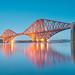 Forth Bridge Twilight by Ray Devlin