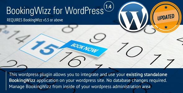 BookingWizz for Wordpress v1.4