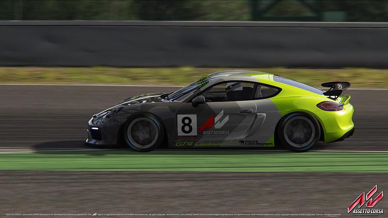 Assetto Corsa Porsche Cayman GT4 Clubsport