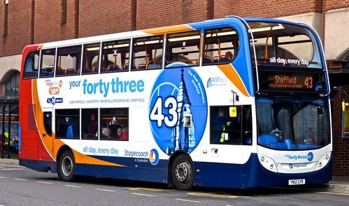 YN12 GYR 'Stagecoach Yorkshire' No. 15826 Scania 230UD / Alexander Enviro 400 on Dennis Basford's 'railsroadsrunways.blogspot.co.uk'