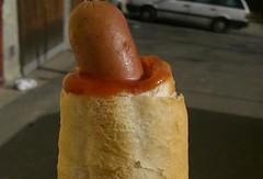 Czech republic hot dog style