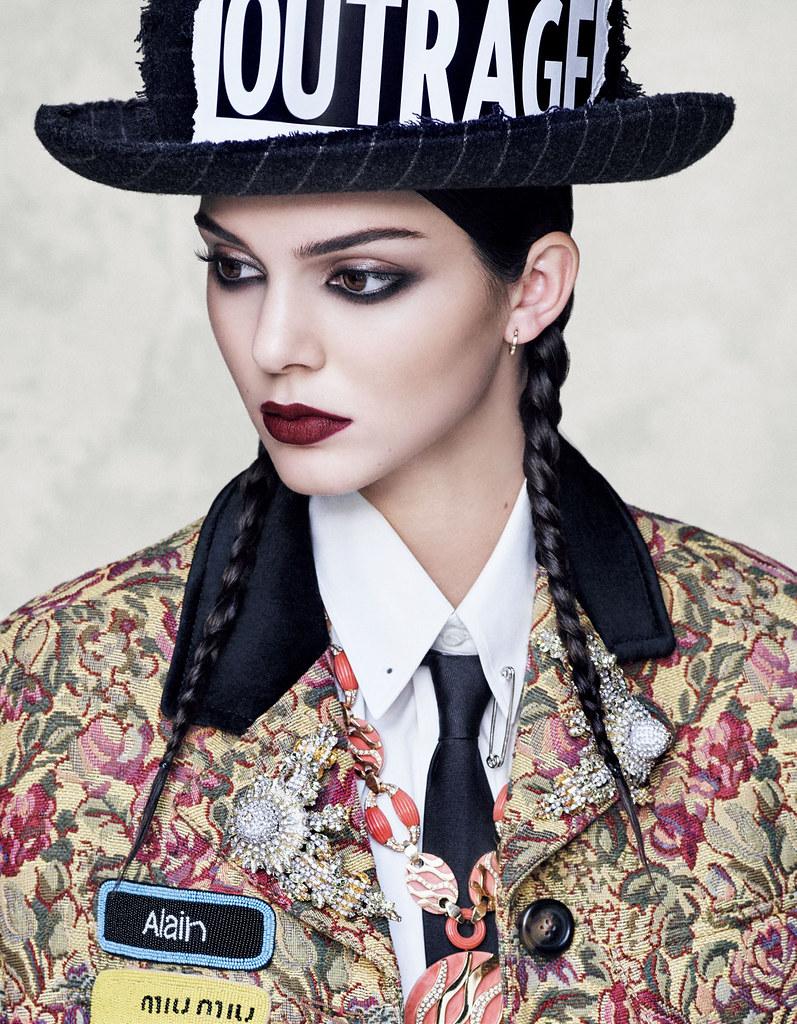 Кендалл Дженнер — Фотосессия для «Vogue» JP 2016 – 4