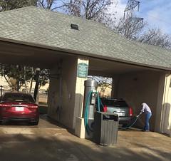 December car washing