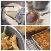 Apple crisp with Blanton's bourbon and vanilla bean brown butter? Why yes, I think I will! (Best idea ever, @laurawalston ... mwah!) #bakingwithlily #applecrisp #blantons #thanksgiving #whoneedspie