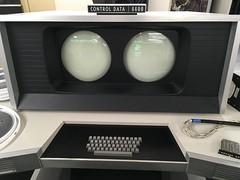 Control Data 6600 console