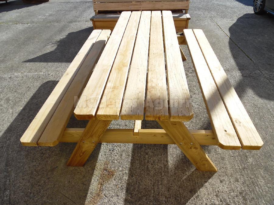 Maderas aguirre mobiliario mesas mesa pino picnic - Maderas aguirre ...