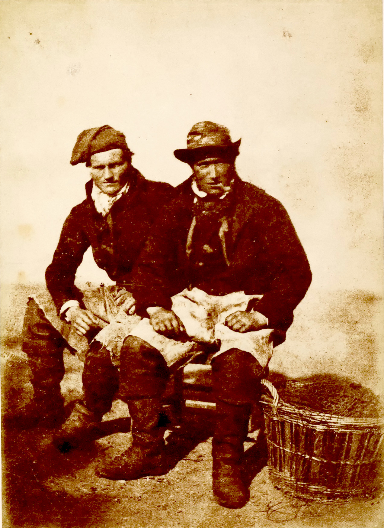 David Young and Unknown Man, Newhaven