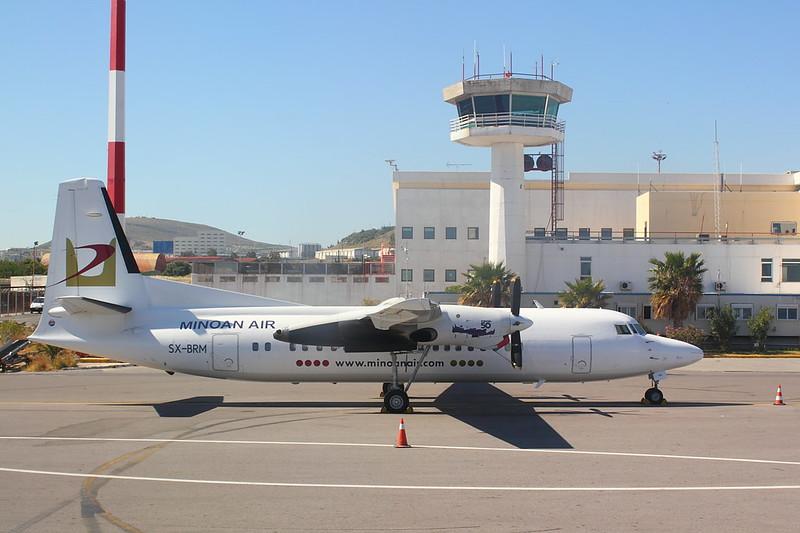 Minoan Air Fokker 50