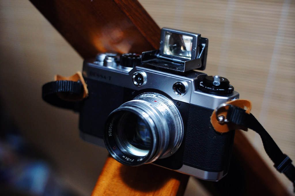 Voigtländer Bessa-T with Zeiss Ikon 433/26 finder and Юпитер-3 5cm 1:1.5 ( Jupiter-3 50/1.5 )