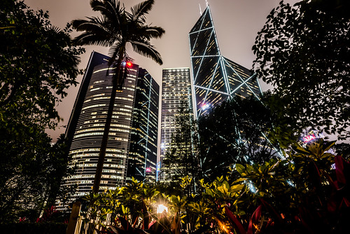 Hong Kong Park by Zanthia