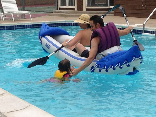 Rescue - Kayaking at the Pool, Boulder, CO