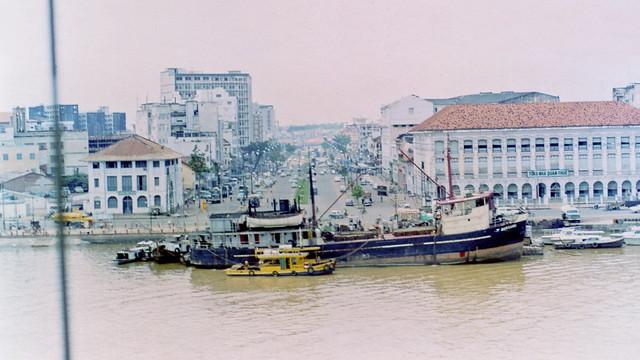1971 Sông Saigon - Đầu đường Hàm Nghi