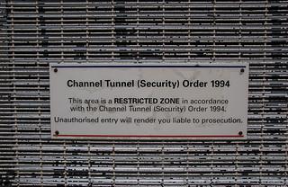 Site protégé du Tunnel sous la Manche