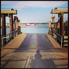 Shelter Island Ferry ramp
