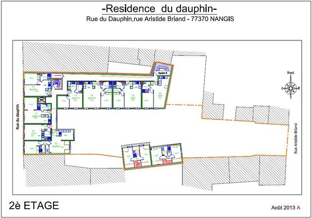 Résidence du Dauphin - Plan de vente - 2ème étage