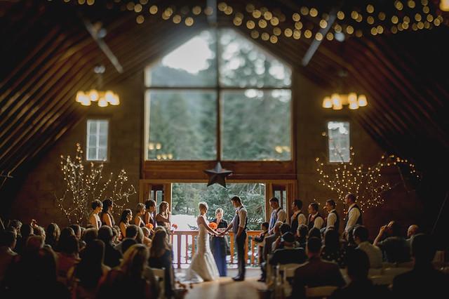 Winter wedding pine river ranch leavenworth wa flickr for Indoor wedding venues washington state