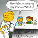 Dragonfly comic by Jack ( with some photoshop added ) by V&A Steamworks - Guy HImber