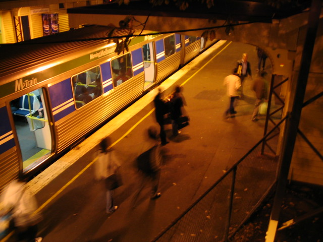 Murrumbeena station, August 2003